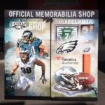 Custom graphic for the kiosks at Lincoln Financial Field