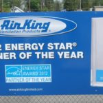 Aluminum fence sign with large format digitally printed graphics