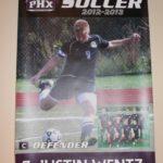 Custom High School Team Digitally printed banner with grommets