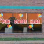 Interior cut vinyl wall graphics West Chester, PA