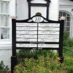 MDO Panel Sign