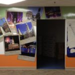 PVC overlay with digitally printed graphics- Exton, PA