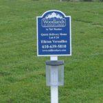 Custom MDO real estate homesite sign- Ridley Creek, PA