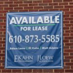 Full color digitally printed vinyl banner with grommets- West Chester, PA
