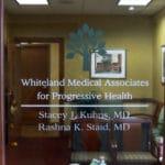 Vinyl graphics for medical building suite door-Exton, PA