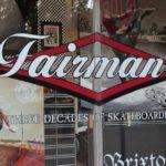 Fairman's Vinyl Window Decal