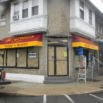 A retail awning for a Pizzeria in Upper Darby