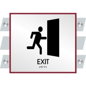 ADA Exit Sign in Garrison Collection
