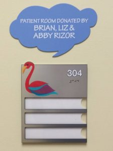 Patient Room Sign