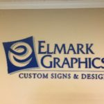 Wall-mounted acrylic panel display in West Chester, PA