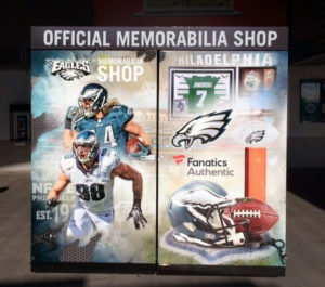 Sport Team Graphics for the Eagles