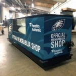 Graphics from the Eagles Official Memorabilia Shop