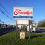 Friendly's Sign during the Day