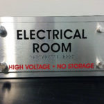 Electrical Room ADA Sign