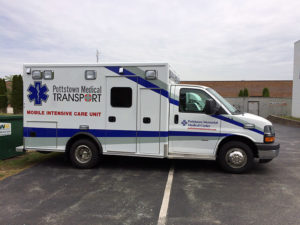 Pottstown Ambulance Graphic
