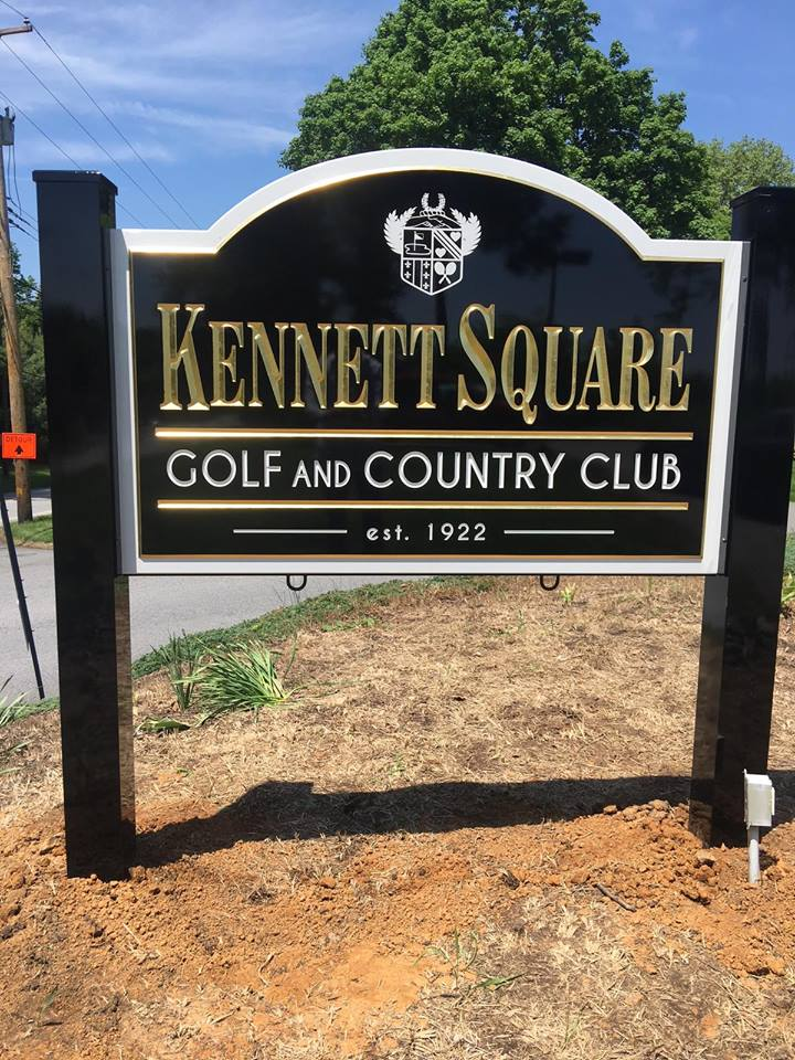 Kennett Square Country Club HDU Sign