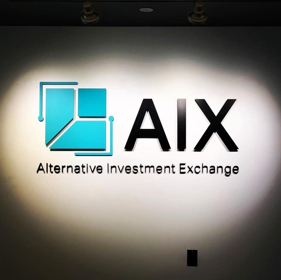 Office Dimensional Letters - AIX Alternative Investment Exchange