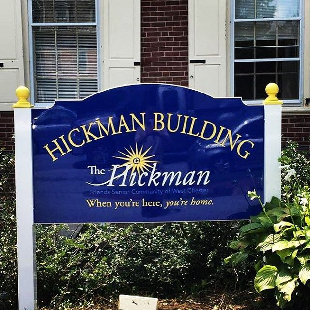 Carved Sign - The Hickman West Chester